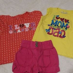 Other - 18m 2 shirts and shorts